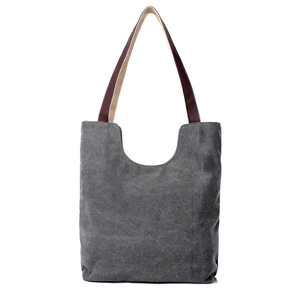 Simple Fashion Leisure Canvas Handbag Shoulder Bag