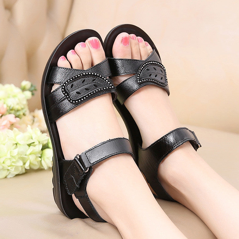 Summer Casual Comfy Sandals Genuine leather Non-Slip Shoes