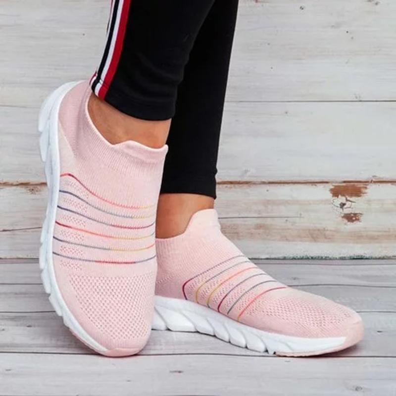 Casual Breathable Soft Sole Slip-On Sneakers