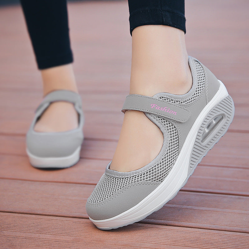Casual Hook Loop Shake Shoes