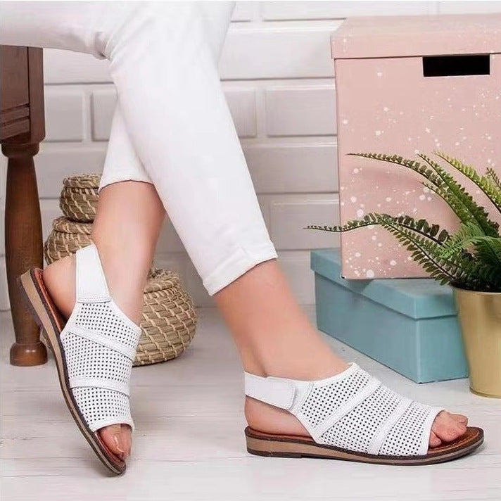 Summer Casual Peep-Toe Sandals for Women