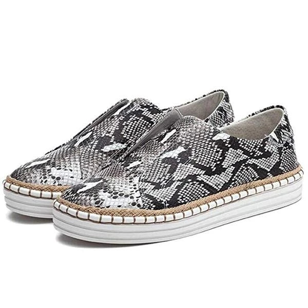 Women Slip-On Round Toe Casual Flat Shoes