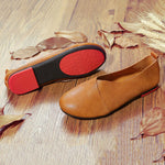 Retro Handmade Soft Sole Comfortable Flat Loafers Shoes-magcloset