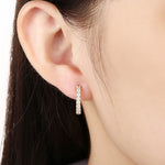 New Fashion Ear Clip Earrings with Zircon