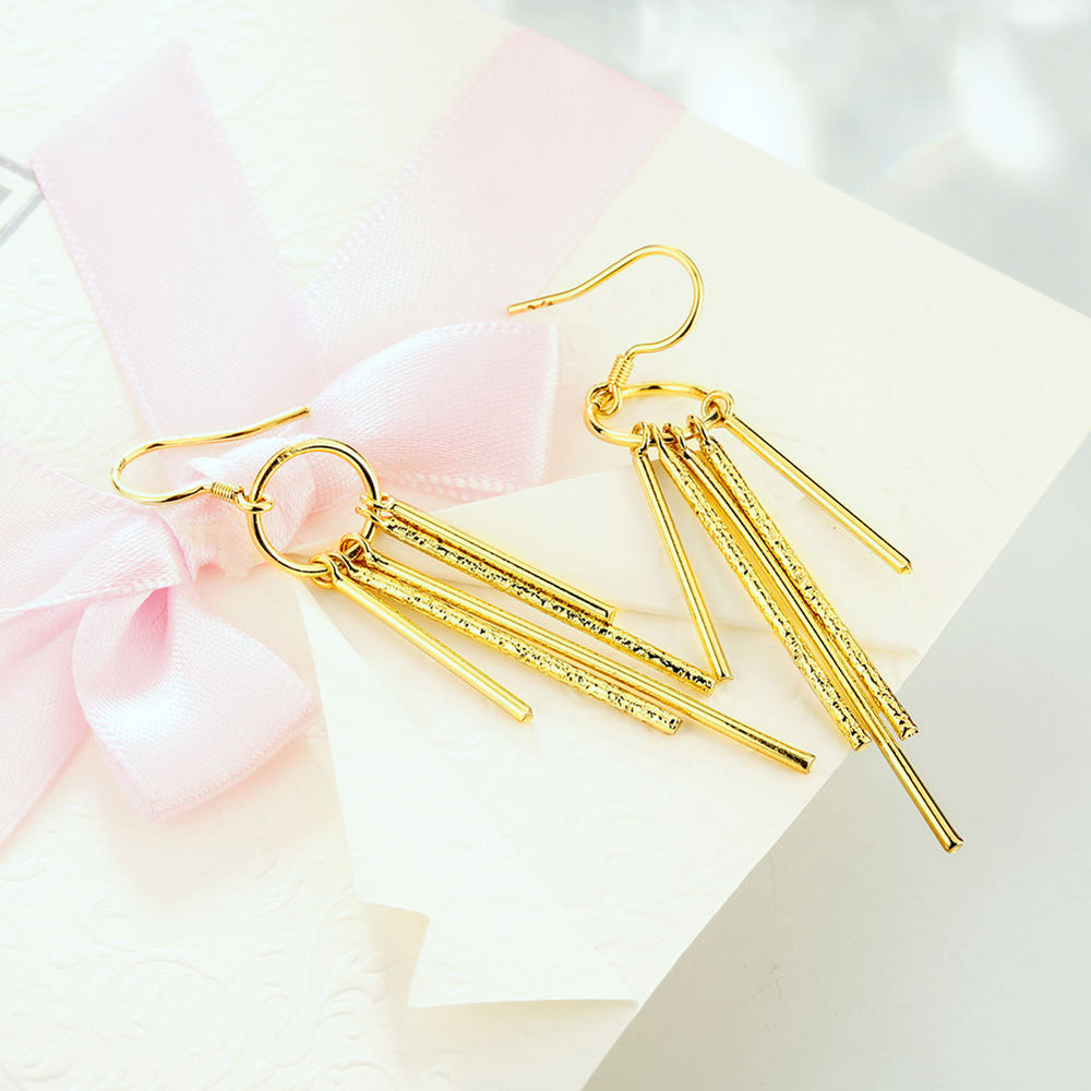 Elegant Long Ear Hook Earrings - MagCloset