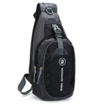 CLEARANCE-Men Women Waterproof Sport Chest Pouch Shoulder Crossbody Bag