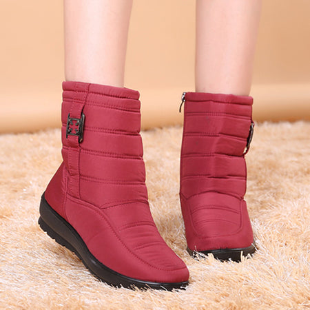Winter Fashion Waterproof Snow Boots Light Weight Shoes