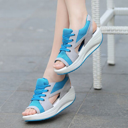2017 New fashion platform sandals breathable comfy casual sport women shoes - MagCloset
