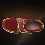 Shock Absorption Anti-Slip Elastic Band Flat Sneakers
