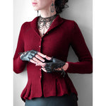 Casual Solid Color Button Cardigan Sweater