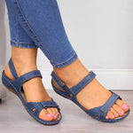Women Comfy Sole Hoop Loop Sandals