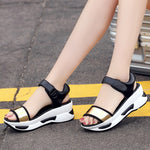 Casual Sport Fashion Platform Sandals Rocker Bottom Shoes