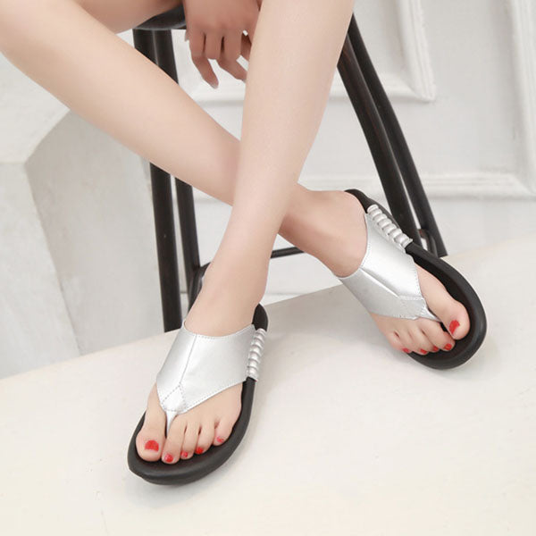 Summer Cool Slippers Fashion Thick-bottomed Lazy Flip-Flops