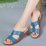 Simple Fashion Summer Women Soft Sole Antislip Sandals Slippers