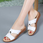 Simple Fashion Summer Women Soft Sole Antislip Sandals Slippers-magcloset