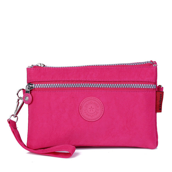 CLEARANCE-Nylon Portable Causual Lightweight 6 inches Phone Bag Shoulder Bag Crossbody Bags