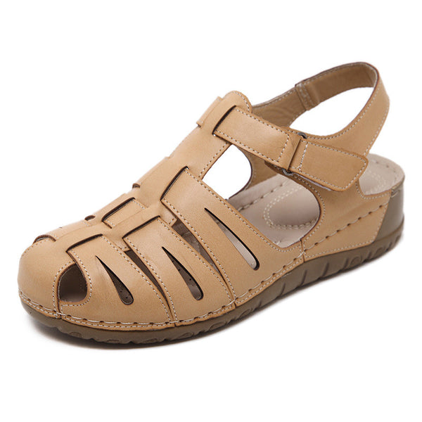 CLEARANCE-Women's Casual Comfy Gladiator Sandals Wedge Shoes - MagCloset