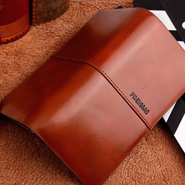 CLEARANCE-16 Card Slots Card Holder PU Leather Wallet Big Capacity Coin Purse For Women Men - MagCloset