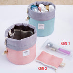 CLEARANCE-Woman Cosmetic Storage Kit Toiletry Kit Bathroom Amenities Travel Storage Bag - MagCloset