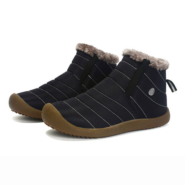 Big Size Men & Women Winter Warm Cotton Lining Boots Lovers Shoes - MagCloset