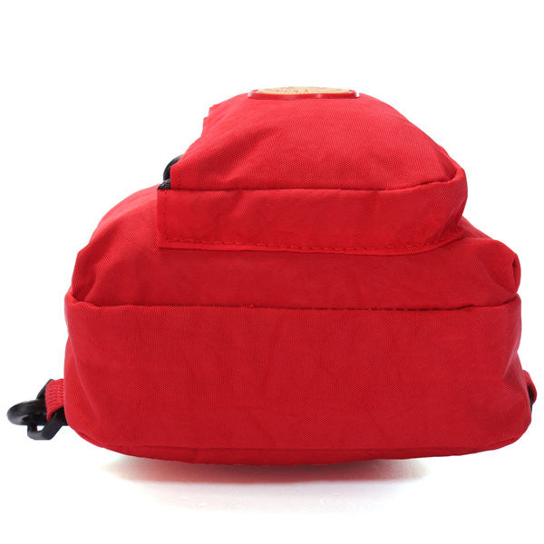 Women Men Casual Washer Wrinkle Fabric Pillow Bags