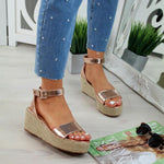 Summer Comfy Open Toe Buckled Sandals