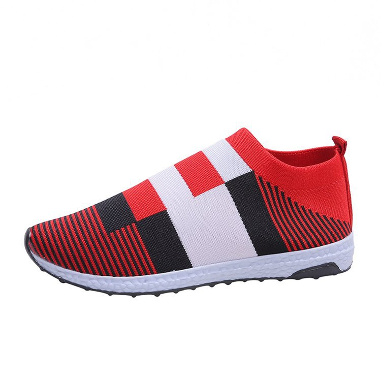Breathable Flyknit Mesh Casual Sport Shoes
