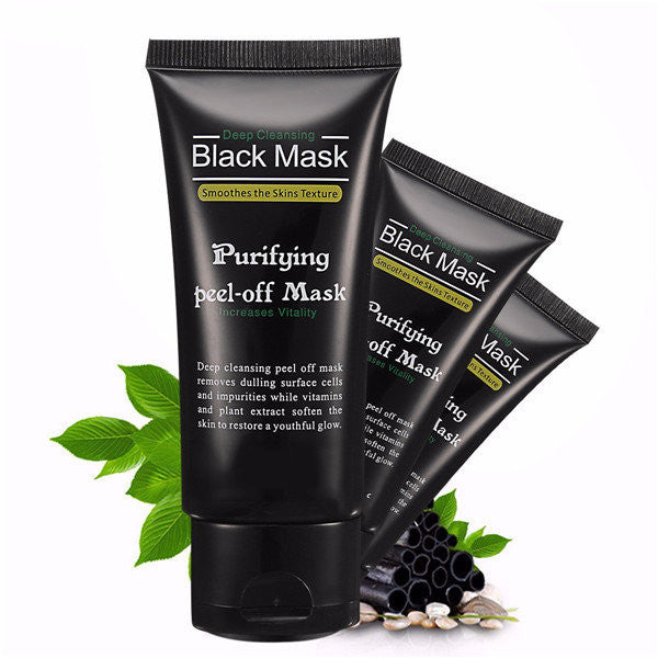 Deep Cleansing Blackhead Peel-off Removal Black Mask Smoothes Skin Purifying - MagCloset