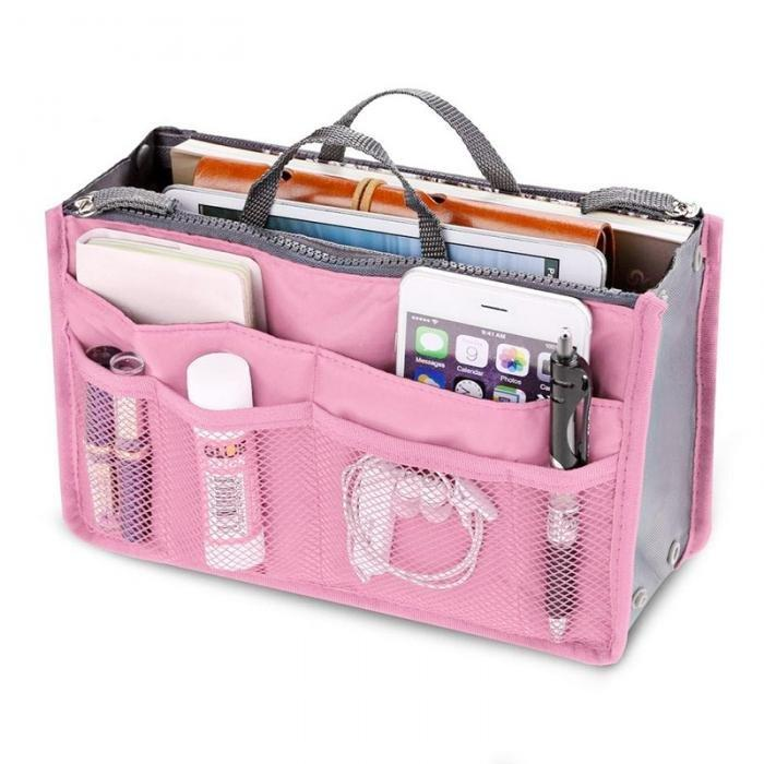 CLEARANCE-Home Large-capacity Travel Organizer Storage Bag Portable Cosmetic Bag Makeup Storage Case