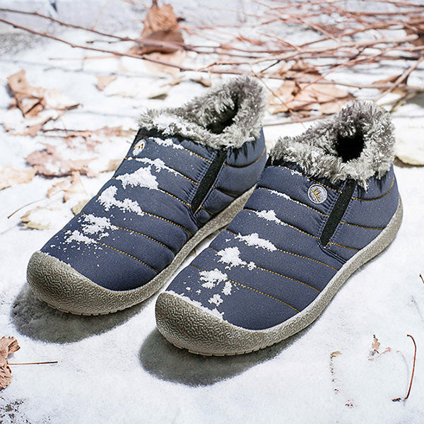 Large Size Waterproof Warm Cotton Snow Boots Lovers Shoes