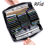 MagCloset RFID Blocking 36 Card Slots Long Wallet