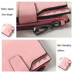 Woman PU Candy Color Short Style Card Bag Change Bag Girls Elegant Wallet Purse