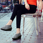 Handmade knitting Casual Wedge Leisure Shoes