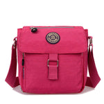 Women Waterproof Nylon Casual Crossbody Bag Elegant Leisure Womens Shoulder Bags