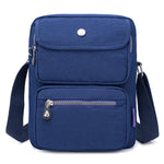 Women Nylon Travel Passport Bag Crossbody Travel Bag Useful Shoulder Bag