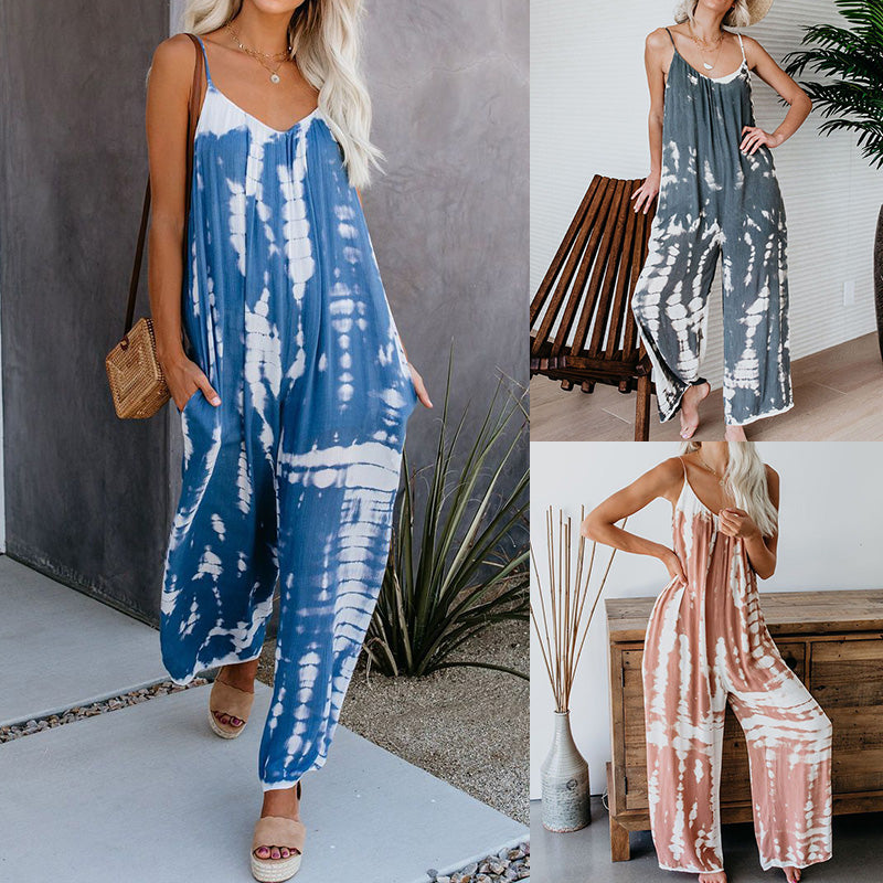 New Sling Printed Jumpsuits