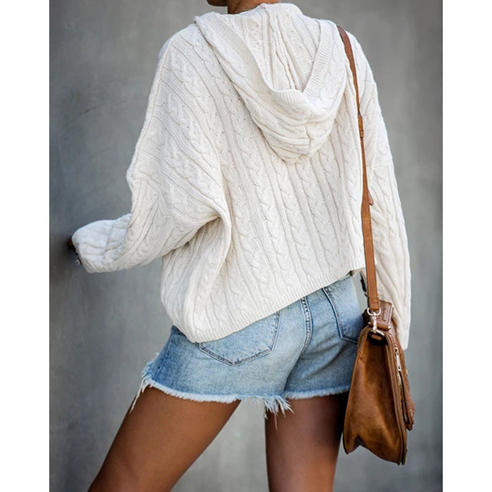Casual Loose V-neck Sweater