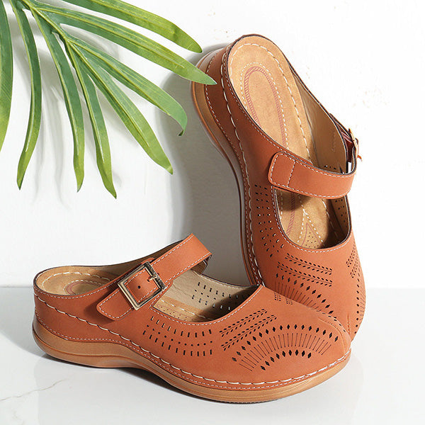 Retro Wedges Comfortable Sandals Slippers
