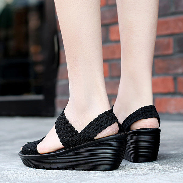 Handmade knitting Casual Shake Sandals