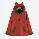 Fashion Cute Cat Ear Hoodie