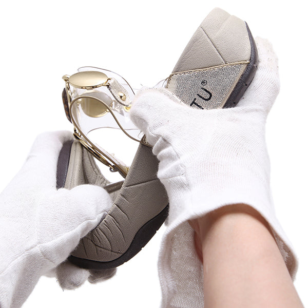 Elegant Transparent Vamp Clip Toe Sandals Slippers - MagCloset