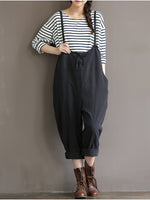 Fashion Lace Up High-Waisted Trousers - MagCloset