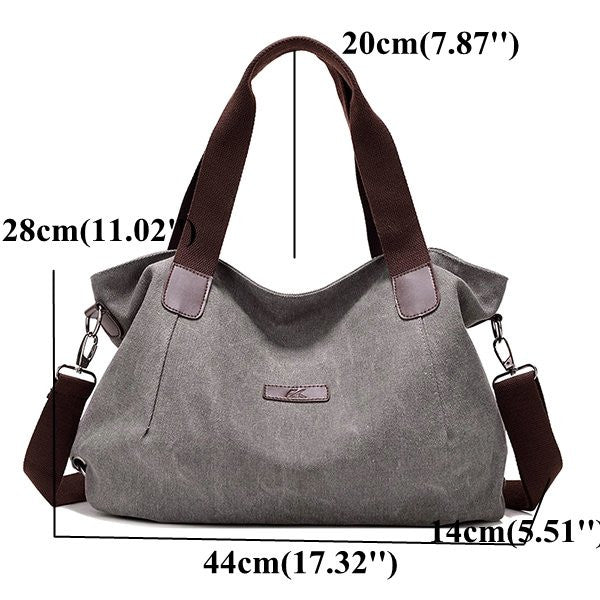 Women Canvas Large Capacity Casual Bags