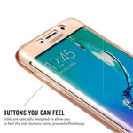 CLEARANCE-For Samsung Galaxy S7 Edge 360¡ã Front And Back Protective TPU Clear Case Cover - MagCloset
