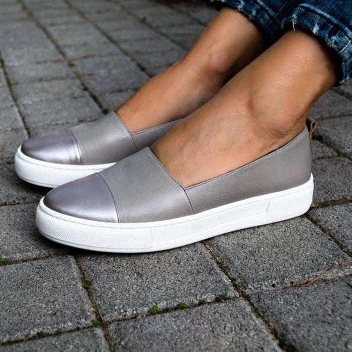 Casual Slip-On Round Toe Loafers