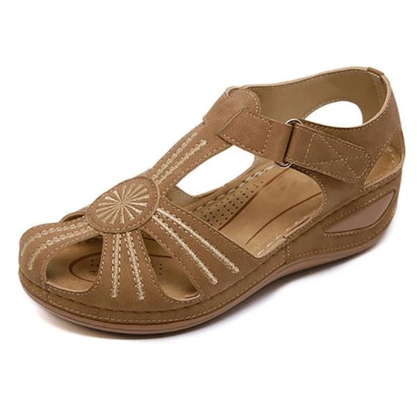 Women Summer Round Toe Thick Sandals