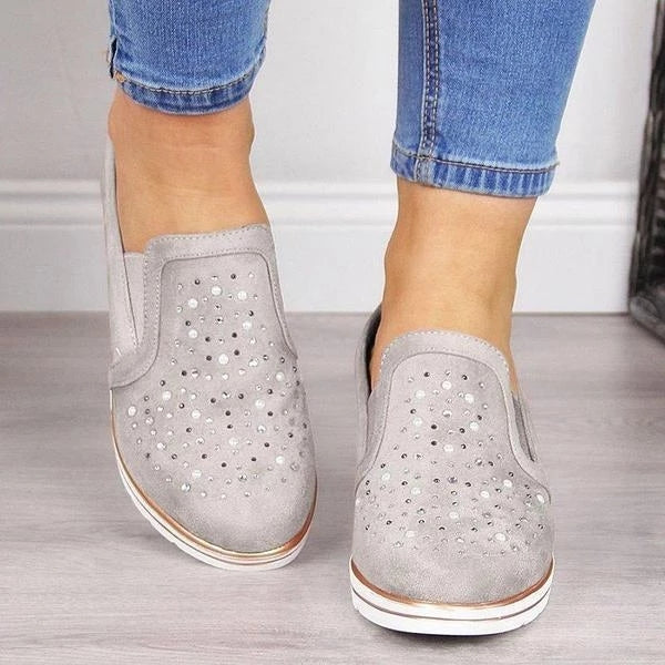 Women's Wedge Breathable Sneakers