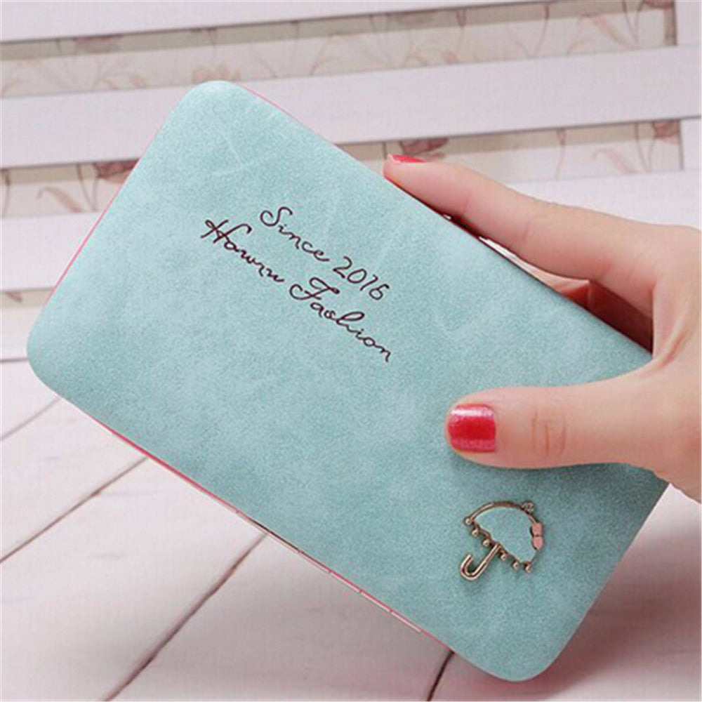 Universal Women Umbrella 5.5 Inches Phone Wallet Card Purse for Iphone Xiaomi Redmi Samsung