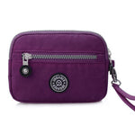 CLEARANCE-Women Casual Nylon Waterproof Zipper Phone Bag Wallet