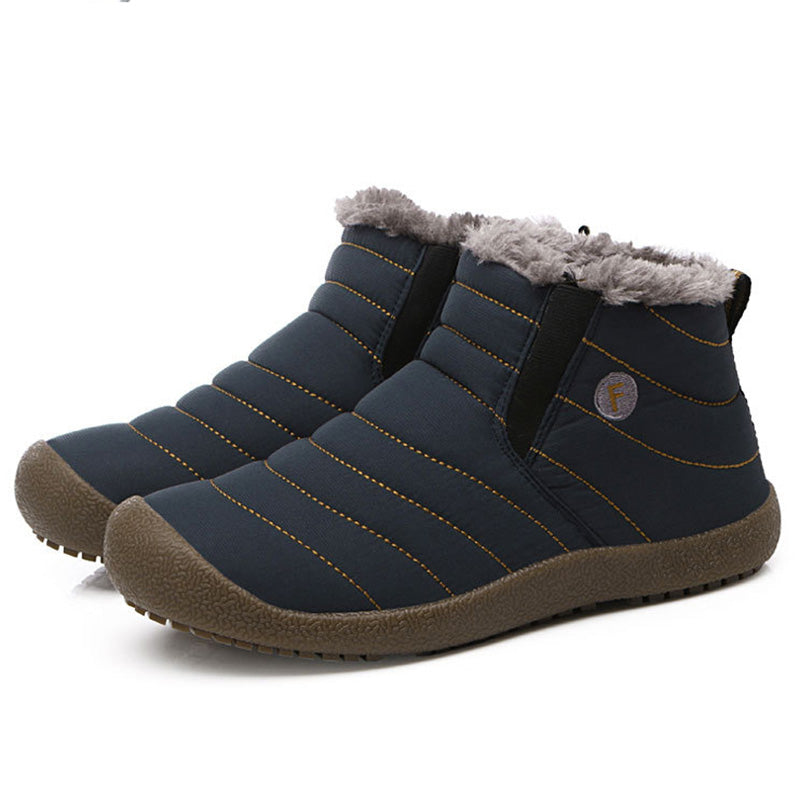 Big Size Men & Women Lovers Shoes Winter Warm Cotton Lining Boots - MagCloset